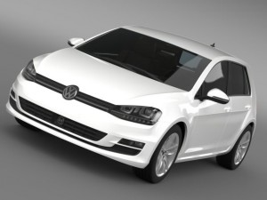 VW Golf TDI 4MOTION 5d Typ 5G 2013