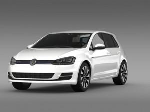 VW Golf BlueMotion Concept Typ 5G 2012