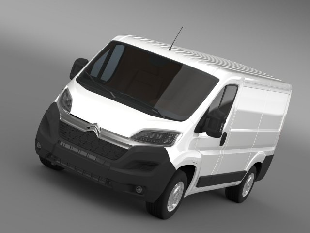 Citroen Relay Van L1H1 2015 3D Model