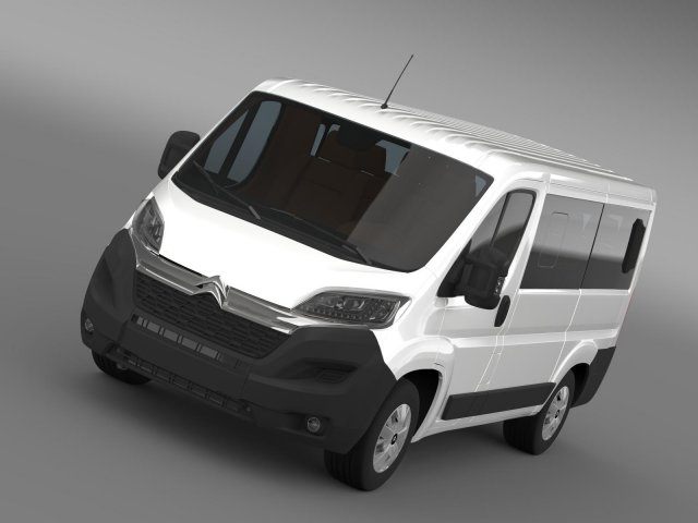 Citroen Jumper Combi L1H1 2015 3D Model