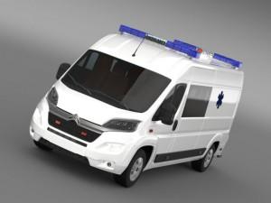 Citroen Jumper Ambulance 2015