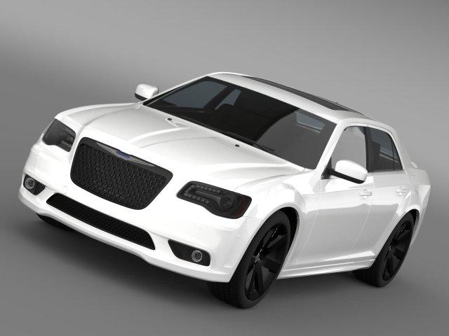 Chrysler 300 SRT8 2012 3D Model