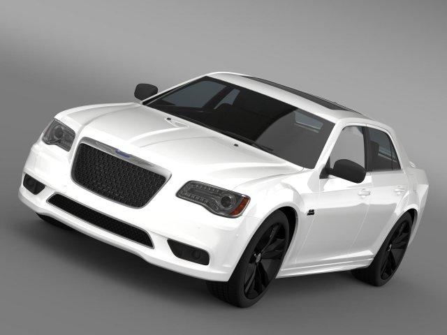Chrysler 300 SRT8 Satin Vapor LX2 2014 3D Model