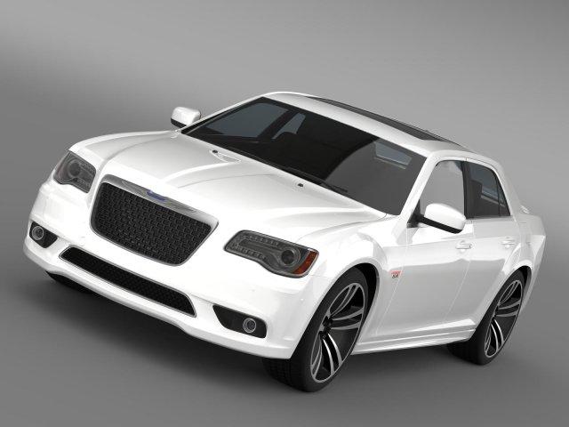 Chrysler 300 SRT8 Core 2013 3D Model