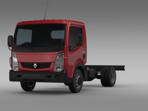 Renault Maxity 2013 Chassi