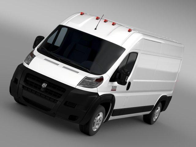 Ram Promaster Cargo 3500 HR 159WB 2015 3D Model