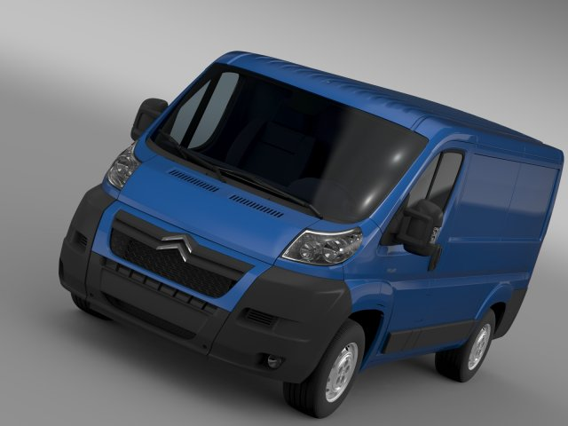 Citroen Relay Van L1H1 2006-2014 3D Model