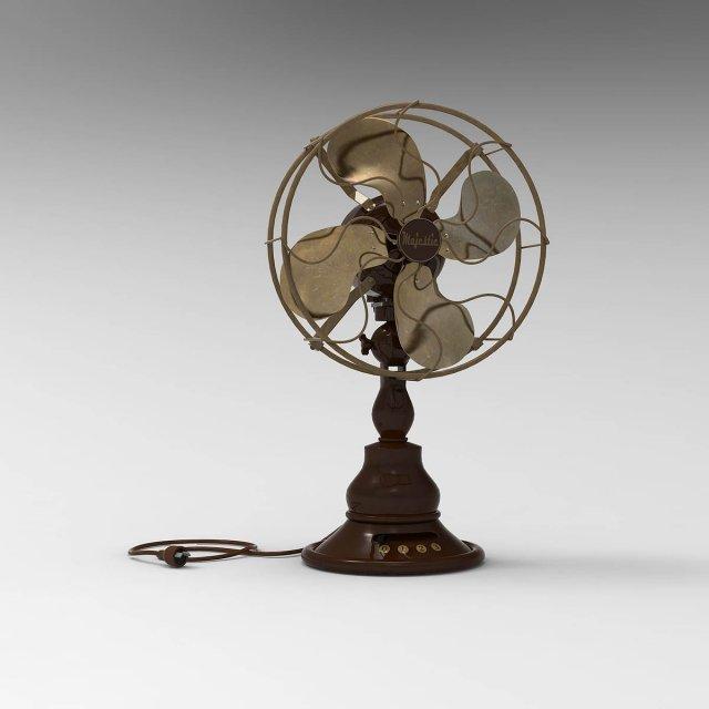 Vintage Electric Fan 3D Model