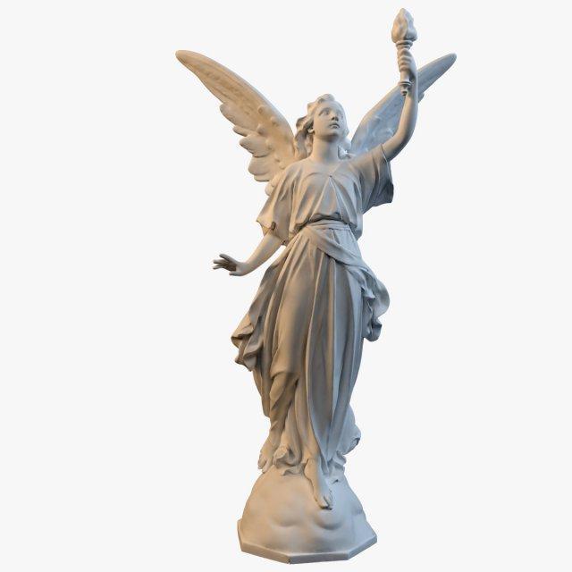Goddess Of Victory 3D Model