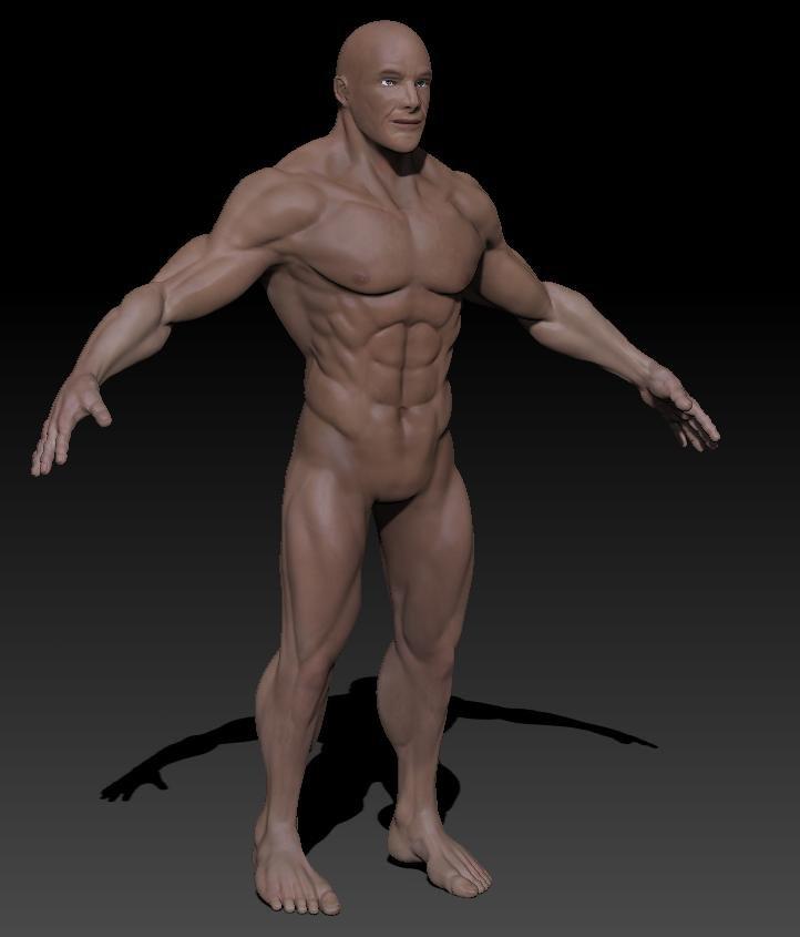 Skinny naked tumbler