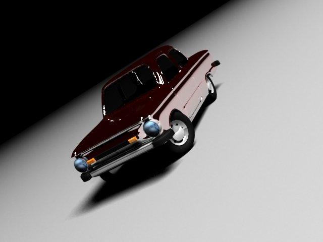 Zaz 968m 3D Model