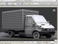 Utility Van 3D Model