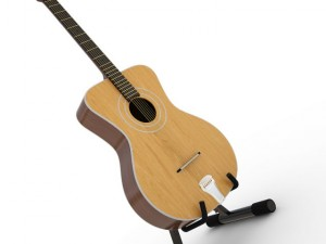 Acoustic Guitar Orfeus With Stand