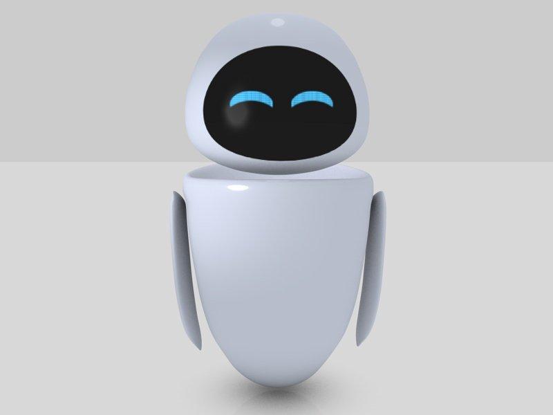 Eve Cartoon Character 3D Model in Cartoon 3DExport