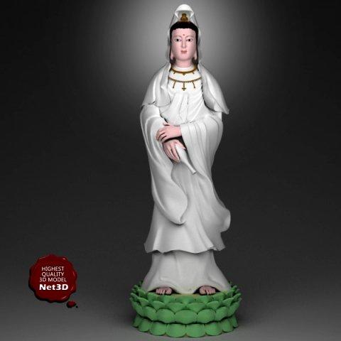 Kwan yin Bodhisattva 3D Model