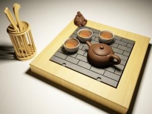 Tea set C