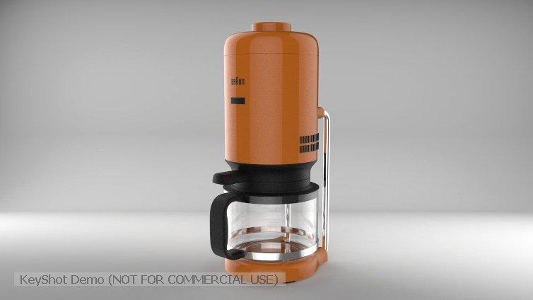Coffee pot 3D Model in Kitchen 3DExport