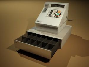 Cashdesk from 1990th