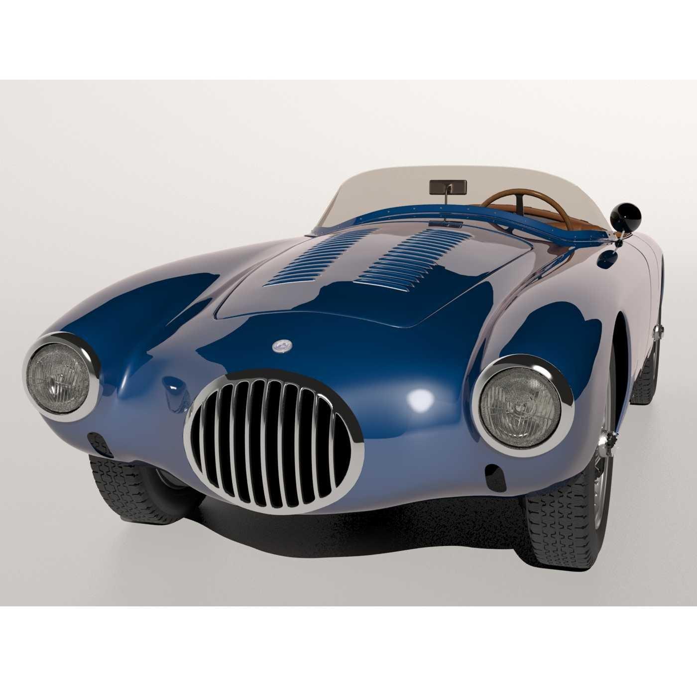 Osca Mt4 3d Model In Classic Cars 3dexport