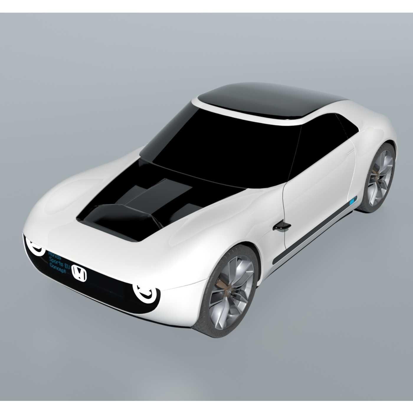 Honda EV Sports 2017 3D Model in Concept 3DExport