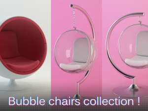 Bubble chairs collection