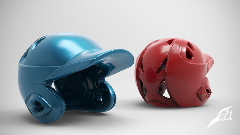 Baseball Helmet 3d Model In Figurines 3dexport