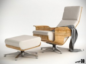 Chaise Cuatro Lounge Chair