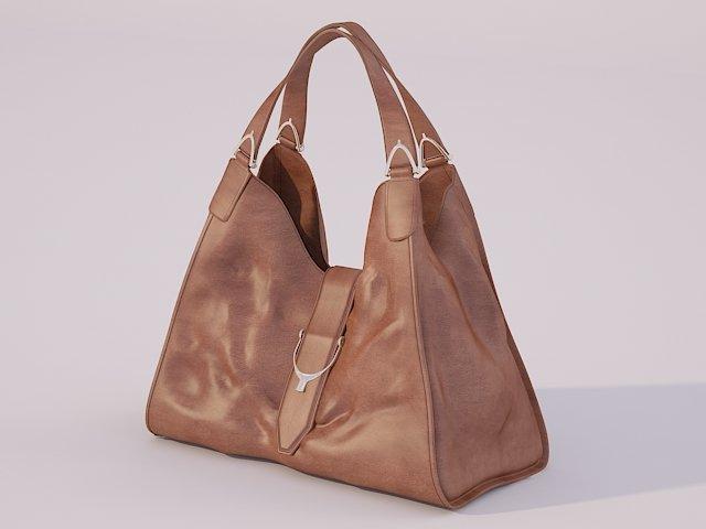 55f43838dda Gucci handbag 3D Model in Clothing 3DExport