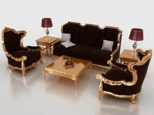 Livinroom 3D Modell