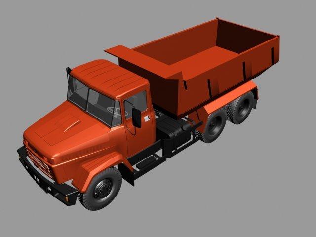 Kraz65055 3D Model
