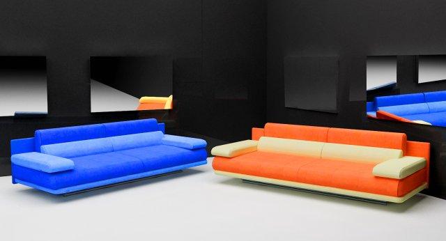 Sofa for Grand Rolf Benz 3D Model