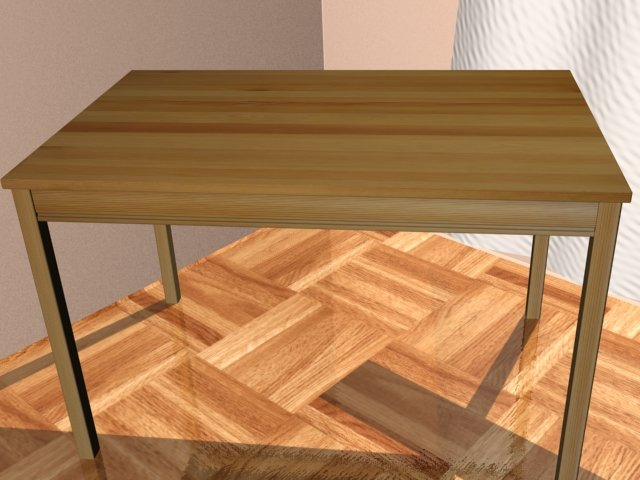 Ikea Jokkmokk Table Model