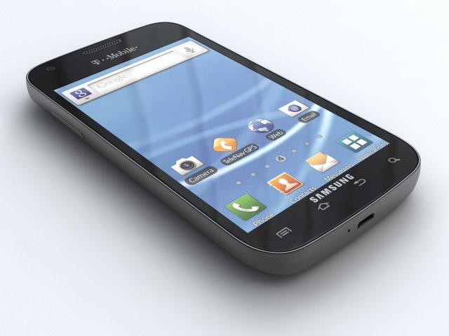 Samsung Galaxy S II TMobile 3D Model