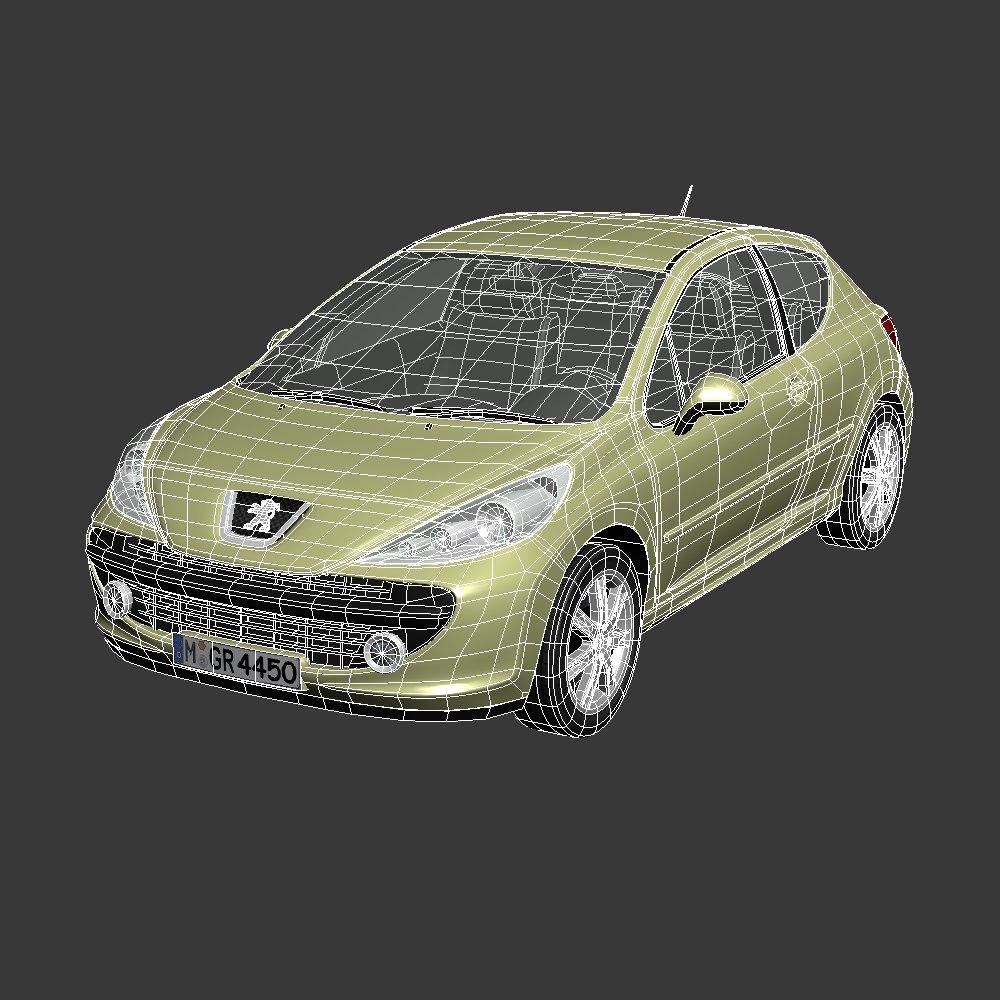 Peugeot 207 3d model in sedan 3dexport peugeot 207 remove bookmark bookmark this item fandeluxe Images