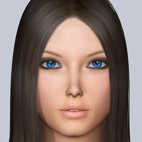 Jana 3D Model