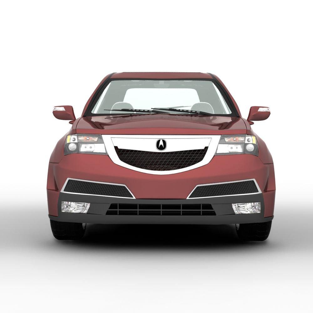Acura MDX SUV 2011 3D Model In Sedan