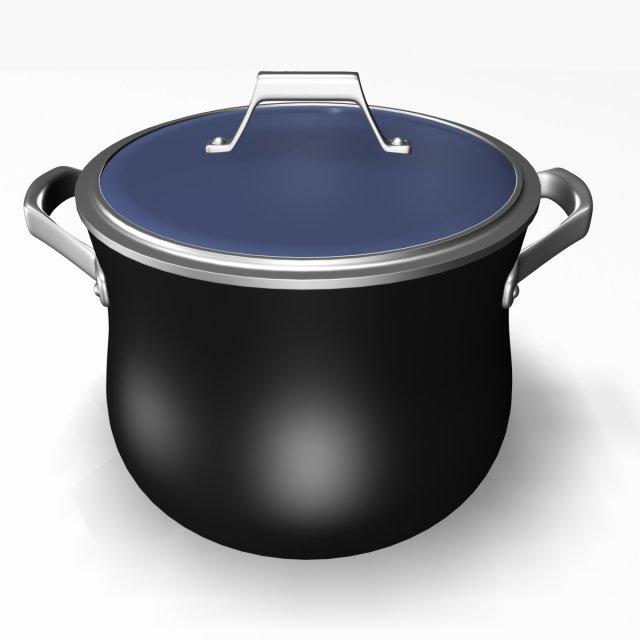 Soup Pot12011 3D Model