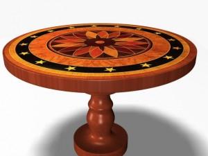 Antique Round Table 12011