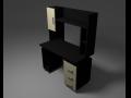 PC desk 3D Model
