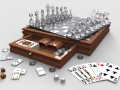 Glass And Wood 5 Game Set