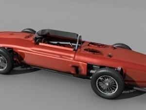 Italian vintage racing car