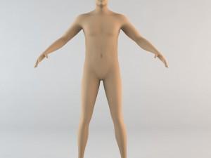 Caucasian Male Human Character
