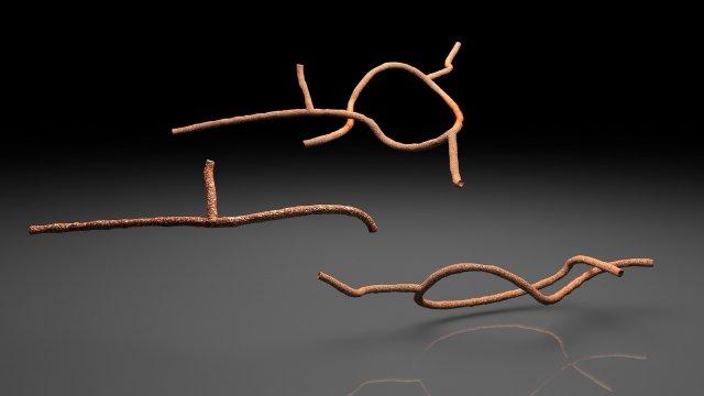 Microscopic Ebola Virus 3D Model