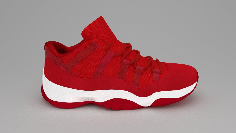 Air Jordan 11 3D Model in Clothing 3DExport b143de6be71b