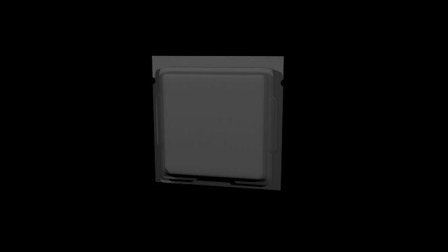 Intel core i7 processor 3D Model