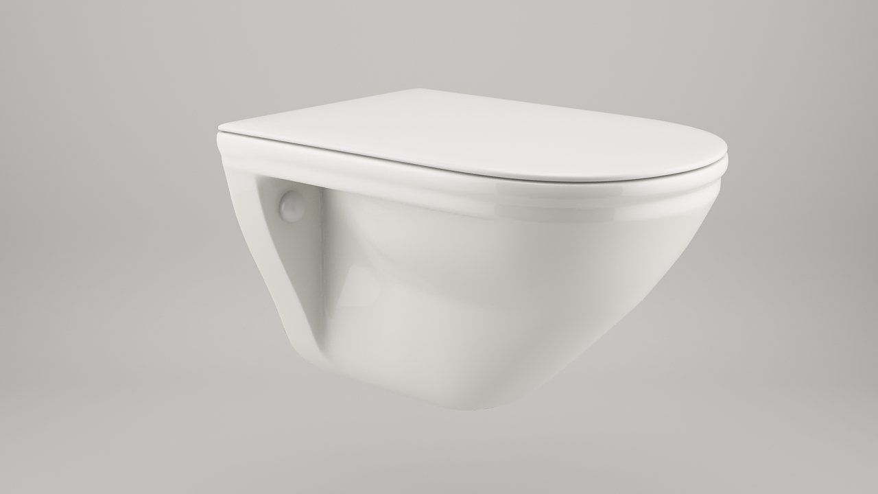 Toilet seat free 3d model in household items 3dexport