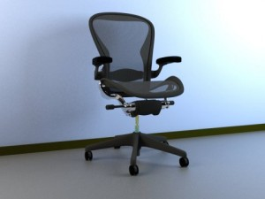 Aeron Work Herman Miller Chair