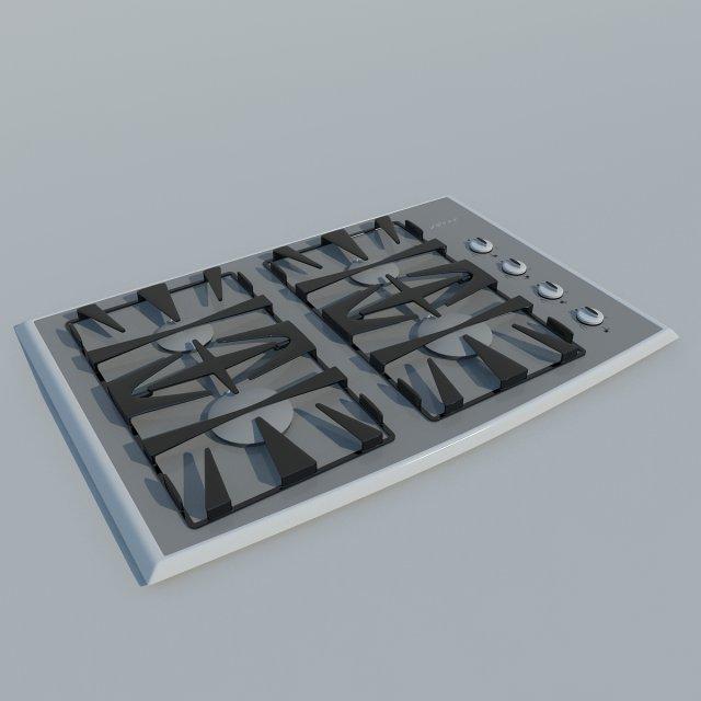Stove 2 MAX 2011 3D Model