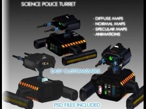 Science Police Turret