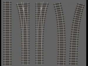 Railway track sections